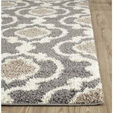 impressive modern gray silver area rugs allmodern with regard to