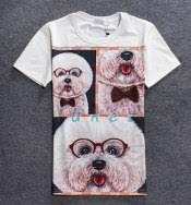 3d boxer dog t shirt 3d doge dog t shirt for men white short sleeve tee xxl tshirtxy com