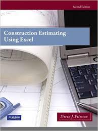 Construction Estimating Classes by Construction Estimating Excel 2nd Edition Steven J