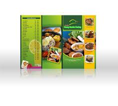 cara membuat brosur makanan menu restoran syahdatul hayani azwar