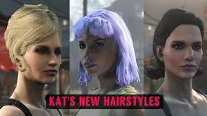 new hairstyle kat u0027s new hairstyles at fallout 4 nexus mods and community