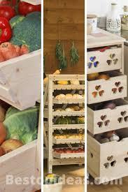 vegetable storage kitchen cabinets 12 fruit and vegetables storage ideas astonishing