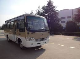 luxury minibus 6 6m luxury diesel coaster 23 seater minibus leaf spring rear with