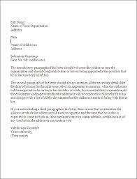 layout of business letter writing business letter format sle business letter format template