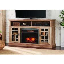 Tv Stand With Fireplace Electric Fireplaces Fireplaces The Home Depot