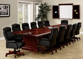 Rectangular Conference Table 14 Foot Expandable Boat Shaped Rectangle Conference Tables