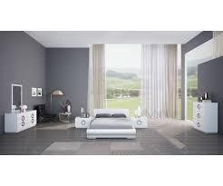 White Gloss Bedroom Drawers 3 574 39 Eddy High Gloss White Bedroom Set Bed Double Dresser