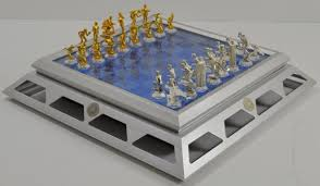 franklin mint chess set for sale classifieds
