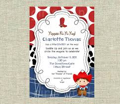 western baby shower top 17 western baby shower invitations for you thewhipper