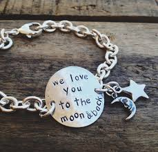 bracelet love you images We love you to the moon and back bracelet jpg