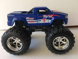 bigfoot 8 monster truck bigfoot motor max firestone blue monster truck 1 64 what u0027s it worth