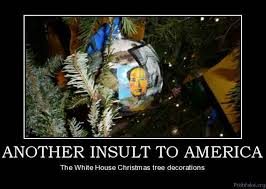 politics another insult to america the white house tree