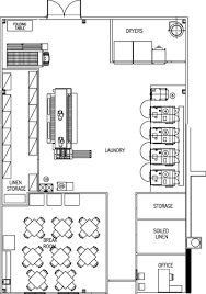 plant layout of hotel loomis bros laundry consulting services plant design