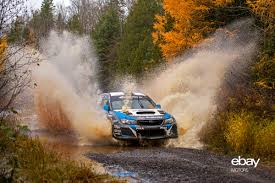 subaru rally higgins victorious at lake superior performance rally ebay