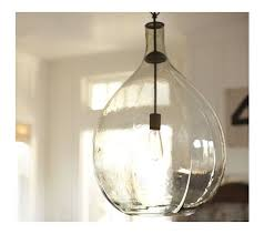 beautiful clear glass kitchen pendant lights for hall kitchen
