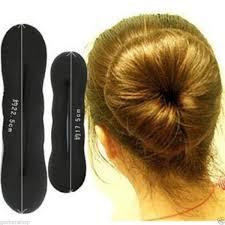 hair bun accessories thewin 6pcs magic foam sponge clip hair styling donut