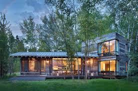 modern cabin design modern rustic cabin montana