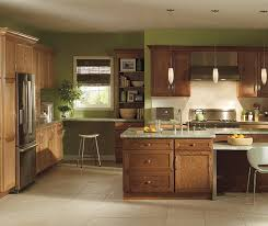 kitchen island oak oak cabinets with kitchen island homecrest