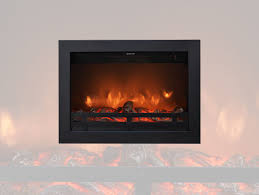 electric fireplace insert flandria ruby fires