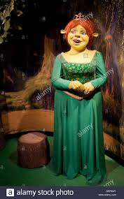 princess fiona shrek movie wax figure madame tussauds