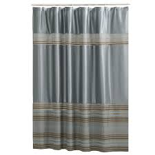 Dark Teal Bathroom Rugs by Shop Shower Curtains U0026 Liners At Lowes Com