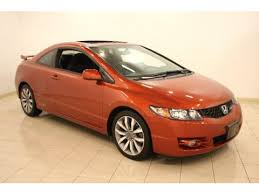 honda civic si for sale in ohio used 2009 honda civic si coupe for sale stock f77815a