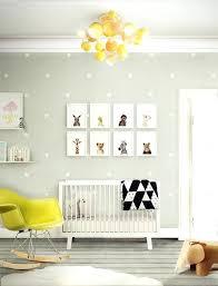 Neutral Nursery Decorating Ideas Baby Boy Nursery Themes Vinyl Mural Sle Indoor Decorated The
