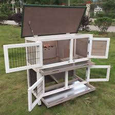 Guinea Pig Hutches And Runs For Sale Guinea Pig Rabbit Cage Ebay
