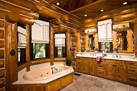 log home bathroom ideas mountain cabin bathroom ideas com