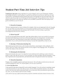 Part Time Job Resume Template by Job Resume Example For High Students 1 Examples Of High