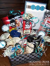 manly gift baskets birthday week gifts for him