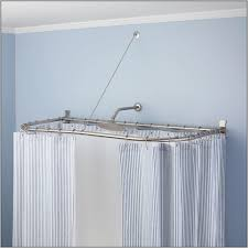 l shaped shower curtain rod bed bath and beyond curtain home