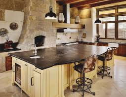 white wall paint decoration with brown cabientry also grey granite