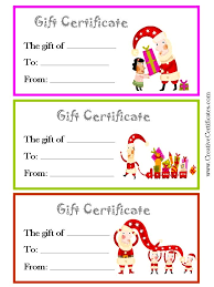 gifts certificates templates expin franklinfire co