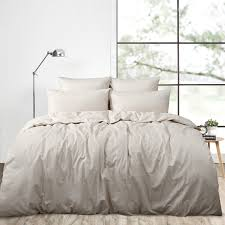 Linen Bedding Sets 4pcs Real Washed Linen Duvet Cover Set King Bedding Sets