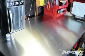 diy aluminum workbench topper import tuner magazine