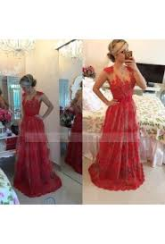 red lace prom dresses black lace prom dresses
