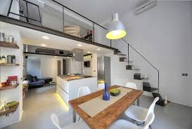 3 Stylish Industrial Inspired Loft Refurbished Industrial Loft Apartment In Rome Idesignarch
