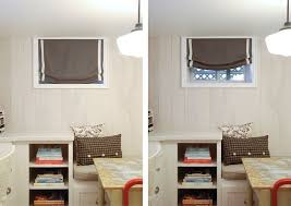 Basement Window Curtains Window Coverings For Small Basement Windows Peaceful Ideas Small
