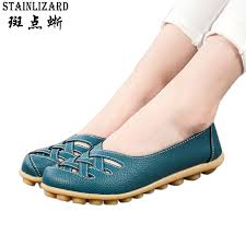 Comfortable Moccasins Summer New Fashion Pu Leather Women Flats Moccasins Comfortable