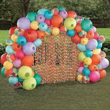 Balloon Diy Decorations Crafty Texas Girls Luau Party Diy Decorations