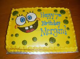 spongebob birthday cake spongebob birthday cakes 9 best birthday resource gallery