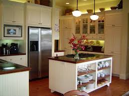cottage kitchen with kitchen island u0026 glass panel in stanwood wa