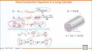 heat transfer u2 l4 general heat conduction equation 1