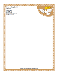 9 personal letterhead templates templates assistant