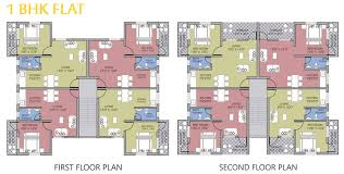 1 bhk floor plan goka engineering gold valley konkan dapoli floor plans