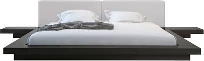 Bedroom Platform Beds Furniture In California Modloft Worth King Bed Hb39a K Official Store