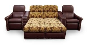 Leather Chaise Lounge Sofa Funiture Sleeper Sofa Ideas For Living Room Using Brown Leather