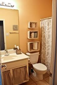 bathroom stylish over toilet banquette small bathroom storage