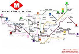 La Metro Map Pdf by World Nycsubway Org Barcelona Spain